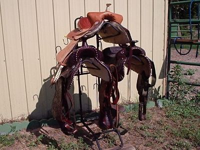 Triple Saddle Rack